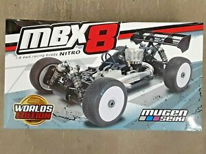 Mugen Seiki MBX8 Worlds Edition 1/8 Off-Road Competition Nitro Buggy Kit E2025