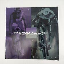 Schwinn Paramount 1992 Bicycle Brochure Catalog