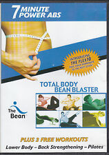 The Bean 7 Minute Power Abs Workout DVD Fitness Total Body Bean Blaster
