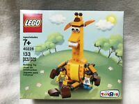 New Sealed LEGO Toys R Us Exclusive Geoffrey And Friends 40228 133PCs Retired
