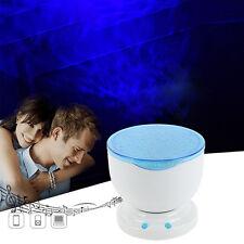 LED Night Light Projector Lamp with Stereo Speaker - Ocean Daren Relaxing Waves
