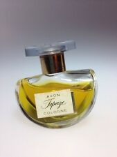Vintage Avon Topaze Cologne In Rocker Bottle .5 Fl. Oz Full Original Box