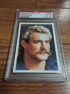 1988 Wonderama NWA Supercards Magnum TA Card PSA 10 WCW WWE Terry Allen