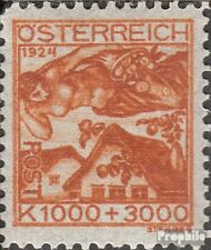 Austria 446 with hinge 1924 youth welfare