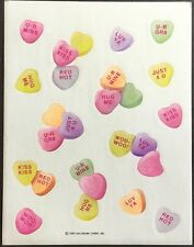 Vintage Stickers - Hallmark - Valentines - Dated 1995