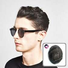 Ultra Thin Skin Mens Toupee Natural Real Human Hair Wigs For Men Noblehairplus