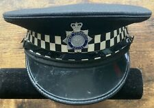 More details for vintage west yorkshire police inspector / chief inspector hat cap original