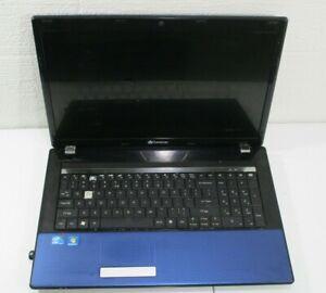 Gateway Laptop Blue MS2290 Windows 7 Intel Core I5 Untested