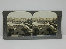 Keystone Stereoview #T270 Public Square and Cathedral, Montevideo, Uruguay 20829