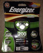 Energizer VISION HD + LED Faros manos libres headtorch 200 LM 6hrs Faro