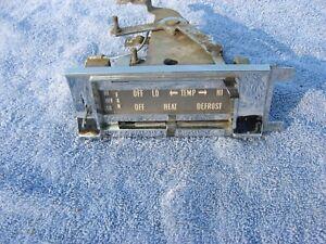 1959 Edsel heater control