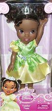 Disney Princess Tiana doll African American Fairytale Toddler Xmas Disneyland