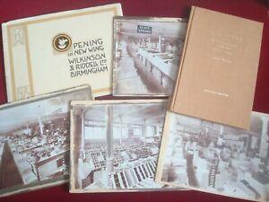 BIRMINGHAM SHOP ARCHIVE WILKINSON & RIDDELL 1851 - 1951 PHOTOS - HISTORY BOOK