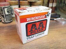 WINCHESTER WESTERN AA PLUS TRAP LOAD shot shell shotgun empty BOX 12 ga