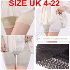 Women Elastic Safety Lace Soft Under Shorts Pants Leggings Render UK Size 4-22