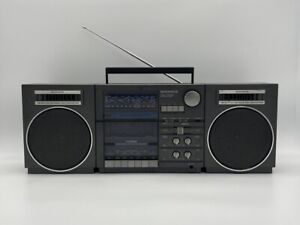 Magnavox TR 4883/17 Boombox AM FM SW Shortwave Tape Player AUX In Out MIDI