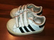 Adidas Originals Superstar 2 CMF Baby Toddler Athletic Shoes White Black Siz 5 K