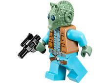 LEGO Star Wars Minifigure Greedo Bounty Hunter & Blaster 75052 **Rare** **New**