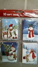 Rachael Hale 921758 Snowman Christmas Gift Tags, 16ct. Free Shipping