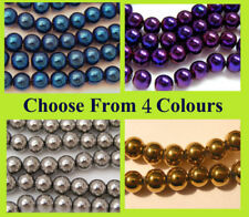Multi Glass Metallic Jewellery Making Beads