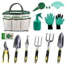 12 Piece Gardening Gifts Tool Kit for Women Men with 6 Hand Tools Garden Storage