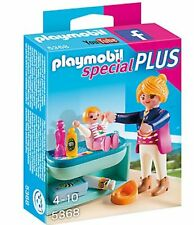 Playmobil 5368 Mother And Child With Changing Table - New, Sealed