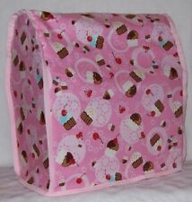 KitchenAid Counter Top Stand Mixer Cover Mini Chocolate Birthday Cupcakes Pink