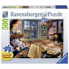 Ravensburger Cozy Retreat 500 Piece Large Format Jigsaw Puzzle NEW Sealed