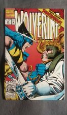 Marvel Comics Wolverine #54 (1992) VF-NM Free Bag/Board! Shatterstar