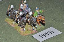 25mm medieval / turkish - seljuk cavalry 6 cavalry - cav (14931)