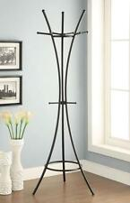 Contemporary Modern Black Metal Coat Rack by Coaster 900895