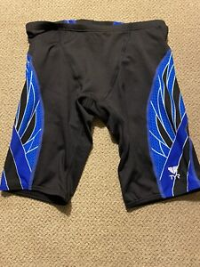 Men's TYR Jammers Racing Swimsuit Compression Shorts 28