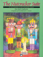 """""""The Nutcracker Suite"""" MUSIC BOOK-Late Elementary/Early Intermediate PIANO-NEW!!"""
