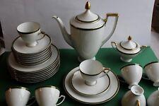 Kaffeeservice H&C Selb Heinrich&Co. für 8 Personen Form Empire Dekor 1800