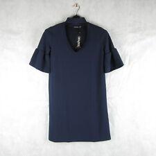 New! Stunning! Boohoo Navy Blue Choker Dress Size 10 - Casual Stylish Fashion