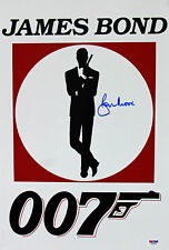 Roger Moore James Bond 007 Authentic Signed 12x18 Photo Autographed PSA/DNA