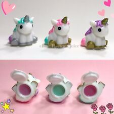 3 Pieces Unicorn Lip Balm Lipgloss Makeup