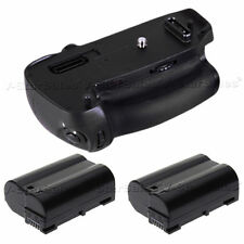 Battery Grip for Nikon D750 + 2x EN-EL15 Replacement Batteries