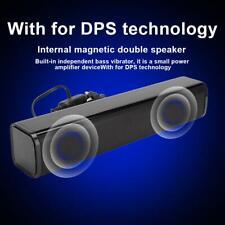 Portable Mini Computer Pc Usb2.0 Speakers 3W Desktop w/ Subwoofer Audio Laptop