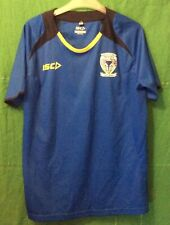 Warrington Wolves Rugby League Training Shirt By ISC Mens Large  Wires