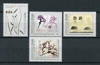 Faroes Faroe Islands 2017 MNH H.C. Lyngbye Botany 4v Set Plants Algae Stamps