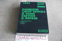 1991 Mitchell Domestic Light Truck & Van Repair Service Manual