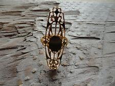 Barrett Adj Ring Gold Plate 8 x 10 Bezel  (Pkg 3) 0187