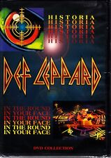DEF LEPPARD - HISTORIA / IN THE ROUND IN YOUR FACE DVD