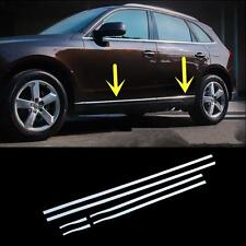 For Audi Q5 2009-2015 Stainless Steel Side Door Body Molding Cover Trim 6PCS