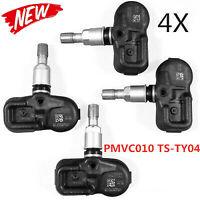 Set of 4 for Toyota Scion Lexus TIRE PRESSURE SENSOR TPMS PMV-C010 SET-TS25