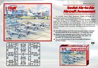 Soviet Air-to-Air Aircraft Armament 1/72 ICM