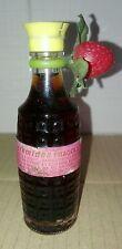 Bottiglia Mignon in Vetro Liquore Di Fragola da Collezione Vintage Collection