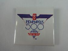 """1991 Indianapolis 500 Event Collector Button 2.25"""" x 2.25"""" Indy500 IndyCar"""
