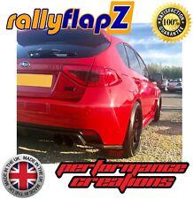 BLANC 4 MM PVC RallyflapZ Subaru Impreza Hayon 08-12 Bavette Noir STi SML